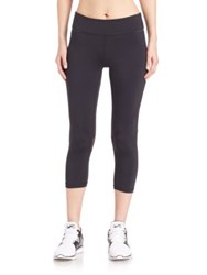 Alala Solid Skinny Fit Sweatpants Black