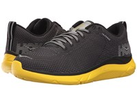 Hoka One One Hupana 2 Black Empire Yellow Running Shoes