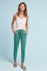 Saturday Sunday Dylan Cropped Joggers Green
