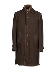 Schneiders Coats And Jackets Coats Men Dark Green