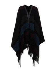8Pm Capes And Ponchos Black