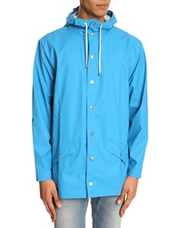Rains Sky Blue Waterproof Jacket