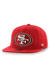 47 Brand 'San Francisco 49Ers Fulton' Wool Blend Cap Red