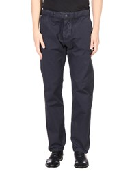 Maison Kitsune Casual Pants Dark Blue