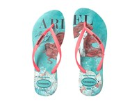 Havaianas Slim Princess Flip Flops Mint Green Women's Sandals
