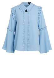 Sister Jane Blouse Blue Light Blue