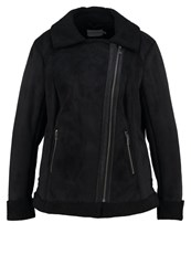 Junarose Jrlenny Faux Leather Jacket Black