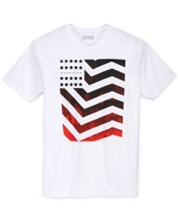 Sean John Men's Graphic Print T Shirt Bright White