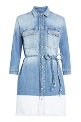 7 For All Mankind Seven Denim Shirt Dress