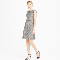J.Crew Tall Punched Out Eyelet Dress