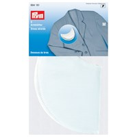 Prym Gold Zack White Dress Shields Large 1 Pair
