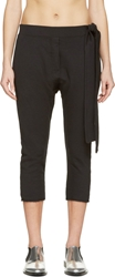 Maison Martin Margiela Black Tie Lounge Pants