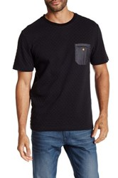 Smash Short Sleeve Quilted Tee Black