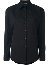Neil Barrett Classic Button Down Shirt Black