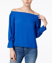 Bar Iii Off The Shoulder Top Only At Macy's Lazulite