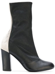 Michel Vivien Quartz Boots Women Leather Suede 41 Black