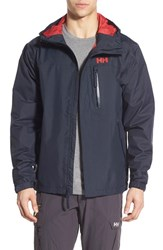 Men's Helly Hansen 'Vancouver' Packable Rain Jacket Navy