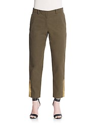 Suno Cotton Trousers Green