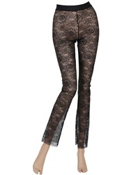 Wolford Floral Lace Leggings