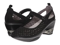Jambu Calypso Black Women's Wedge Shoes