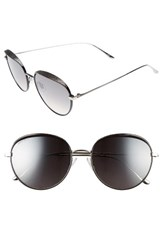 Jimmy Choo Women's Ello 56Mm Round Sunglasses