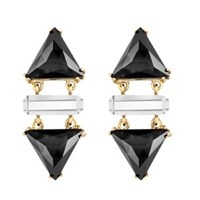 Wanderluster Smoketree Earrings Black Stone
