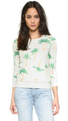 Chaser Palm Tree Breeze Sweatshirt Salt