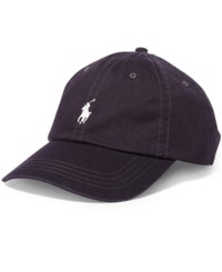 Polo Ralph Lauren Men's Classic Chino Sports Cap Purple