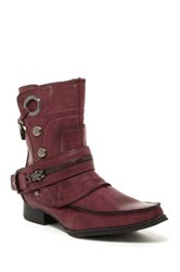 Penny Loves Kenny Swank Ankle Boot Red