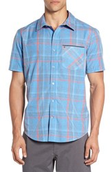 Hurley Men's 'Baxley' Dri Fit Short Sleeve Woven Shirt