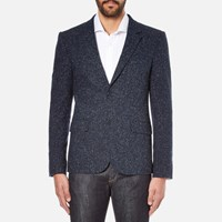 Carven Men's 2 Button Blazer Marine
