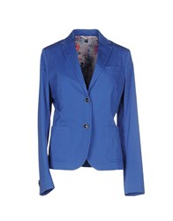 Manuel Ritz Suits And Jackets Blazers Women Azure