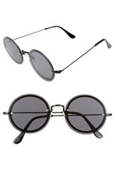A. J. Morgan Women's A.J. 56Mm Rimless Round Sunglasses