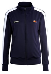 Ellesse Aspetto Tracksuit Top Peacoat Optic White Blue Grey
