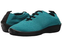 Arcopedico Ls Turquoise Lace Up Casual Shoes Blue