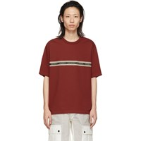 3.1 Phillip Lim Red 'Time Off' T Shirt