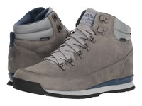 The North Face Back To Berkeley Redux Leather Griffin Grey Shady Blue Hiking Boots Gray