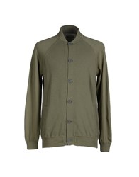 Alpha Massimo Rebecchi Topwear Sweatshirts Men Military Green