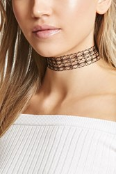 Forever 21 Tattoo Collar Choker Black