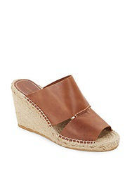 Charles David Owen Leather Espadrilles