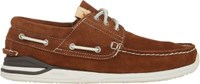 Visvim Men's Hockney Boat Shoes Brown