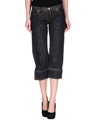 Koo J Denim Capris Black