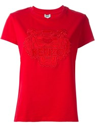 Kenzo Embroidered Tiger T Shirt