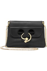 J.W.Anderson Pierce Mini Leather Shoulder Bag Black