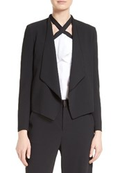 Alice Olivia Women's Draped Shawl Collar Blazer