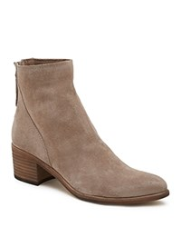 Dolce Vita Women's Cassius Suede Booties Taupe