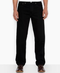 Levi's 550 Relaxed Fit Jeans Black Out