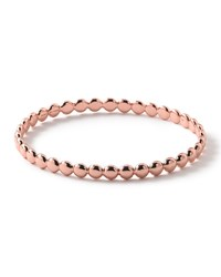 Glamazon Rose Solid Oval Bangle Ippolita Rose Gold