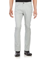 Kenneth Cole Low Rise Slim Fit Pants Sterling Grey