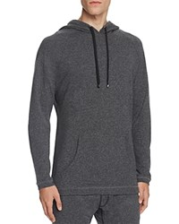 Naked French Terry Hoodie Charcoal Heather